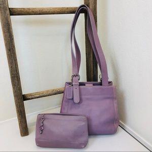 Vintage COACH Handbag & Pouch